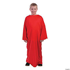 Kids' Red Nativity Gown - L/XL