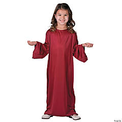 Kids' Small Maroon Nativity Gown