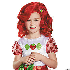 Kids' Strawberry Shortcake Wig