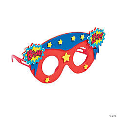 Kids' Superhero Glasses Craft Kit