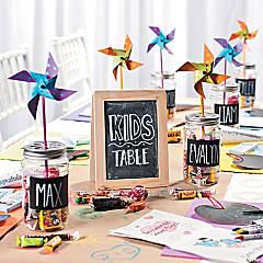 Kid's Table Decorating Idea