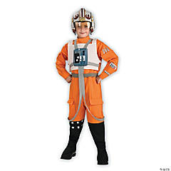 Kid's X-Wing Pilot Star Wars Costume