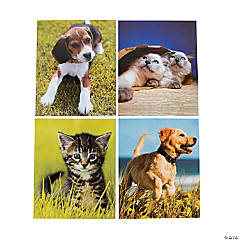 Kitty & Puppy Pocket Folders
