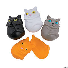Kitty Plastic Easter Eggs