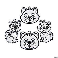 Kitty Suncatchers with Googly Eyes