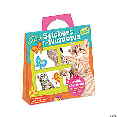 Kitty Window Reusable Sticker Tote