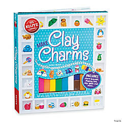 Arts craft kits for kids adults for Klutz make clay charms craft kit