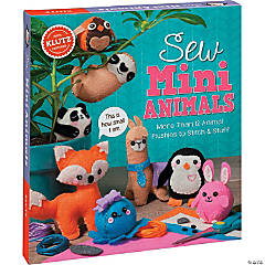 Klutz Sew Mini Animals