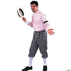 Knickers One Size Adult Men's Costume