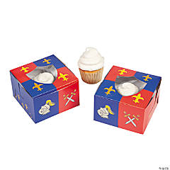Knight's Kingdom Cupcake Boxes