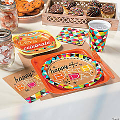 Kraft Birthday Party Supplies