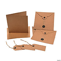 Kraft Paper Card Kits