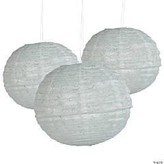 Lace Hanging Paper Lantern