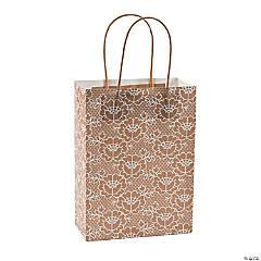 Lace Kraft Paper Bags