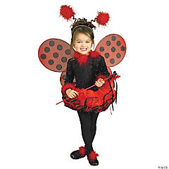 Lady Bug Costume for Toddler Girls