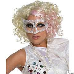 Lady Gaga Pink & Blonde Wig