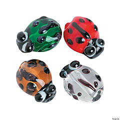 Ladybug Beads - 12mm