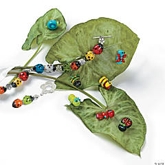 Ladybug Bracelet Idea