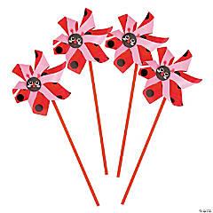 Ladybug Pinwheels