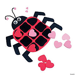 Ladybug Valentine Tic-Tac-Toe Craft Kit