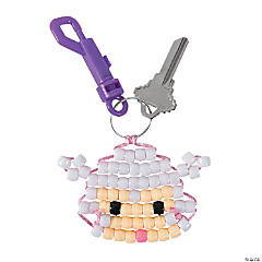 Lamb Key Chain Clip Craft Kit