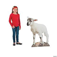 Lamb Nativity Cardboard Stand-Up