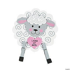 Lamb of God 3D Stand-Up Craft Kit