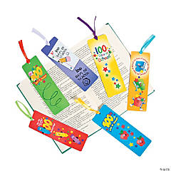 Laminated 100th Day of School Bookmarks