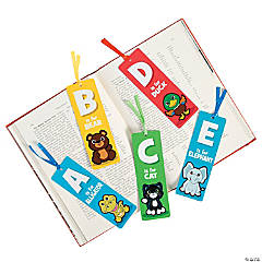Laminated Alphabet Bookmarks