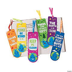 Laminated Earth Day Bookmarks
