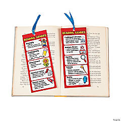 Laminated Jumbo Reading Genre Bookmarks