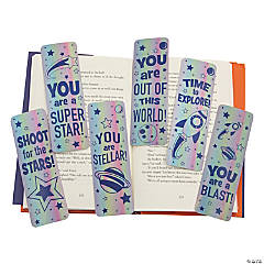 Laminated Out of This World Bookmarks