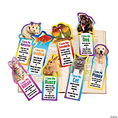Laminated Pet Bookmarks