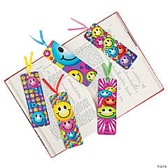 Laminated Smile Face Bookmarks