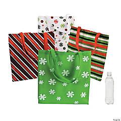 Large Basic Christmas Tote Bags