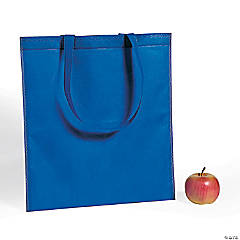 Large Blue Tote Bags