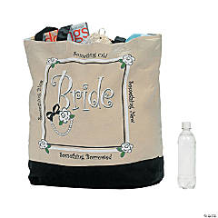 Large Bride Tote Bag