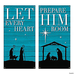 Large Christmas Church Banner Set