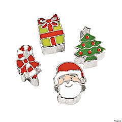 Large Christmas Slide Charms