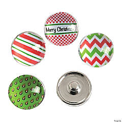 Large Christmas Snap Beads