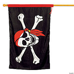 Large Cloth Pirate Flag