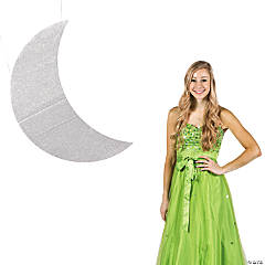 Large Crescent Moon Cutout