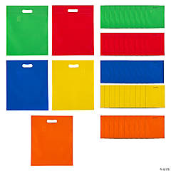 Large Cutout Handle Tote Bags