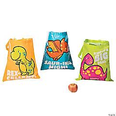 Large Dinosaur Tote Bags