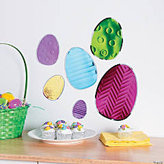 Large Easter Egg Wall Decals