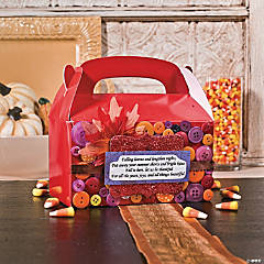 Large Fall Treat Boxes Idea
