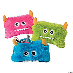 Large Furry Monster Coin Purses