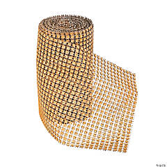 Large Gold Jewel Effect Roll