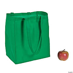 Large Green Shopper Tote Bags