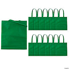 Large Green Tote Bags